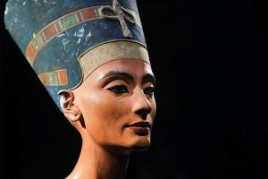 Nefertiti, bellissima regina egiziana egitto