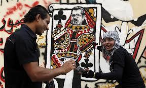 Cairo graffito morsi