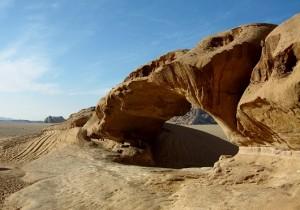 arco di roccia, Wadi Rum