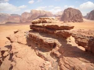 il deserto Wadi Rum Jordan